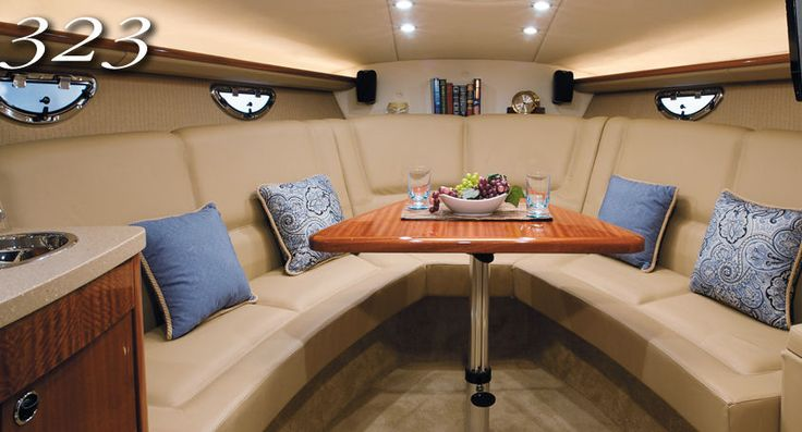 how to clean a boat interior