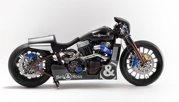 Harley & Davidson? Not! Bell & Ross.