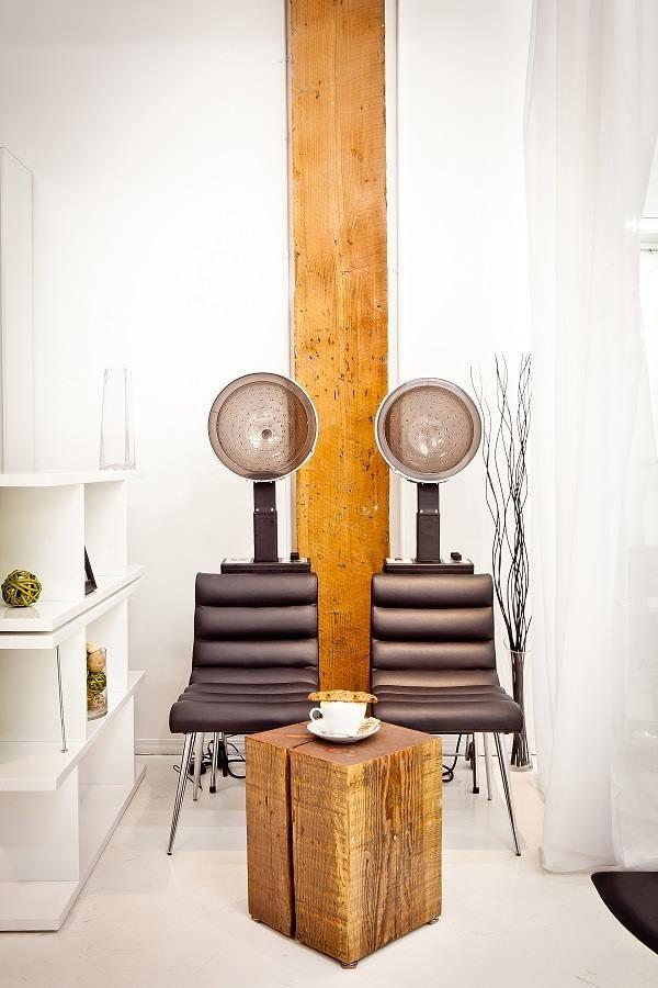 Dryer area at citrus hair salon vancouver citrus hair for A p beauty salon vancouver wa
