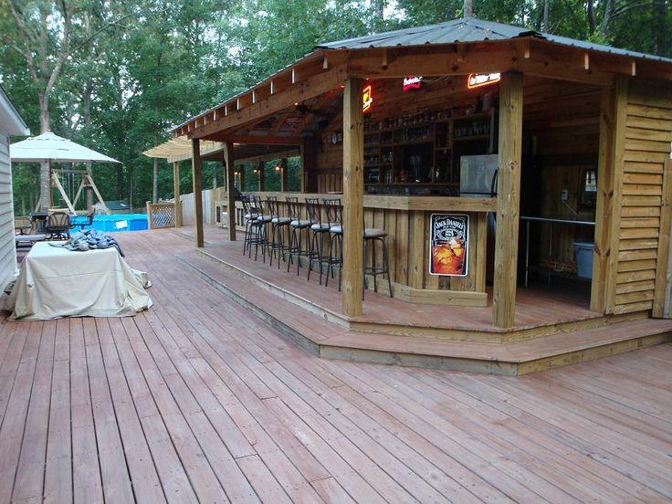 Outdoor bar beach bar ideas pinterest for Beach bar design