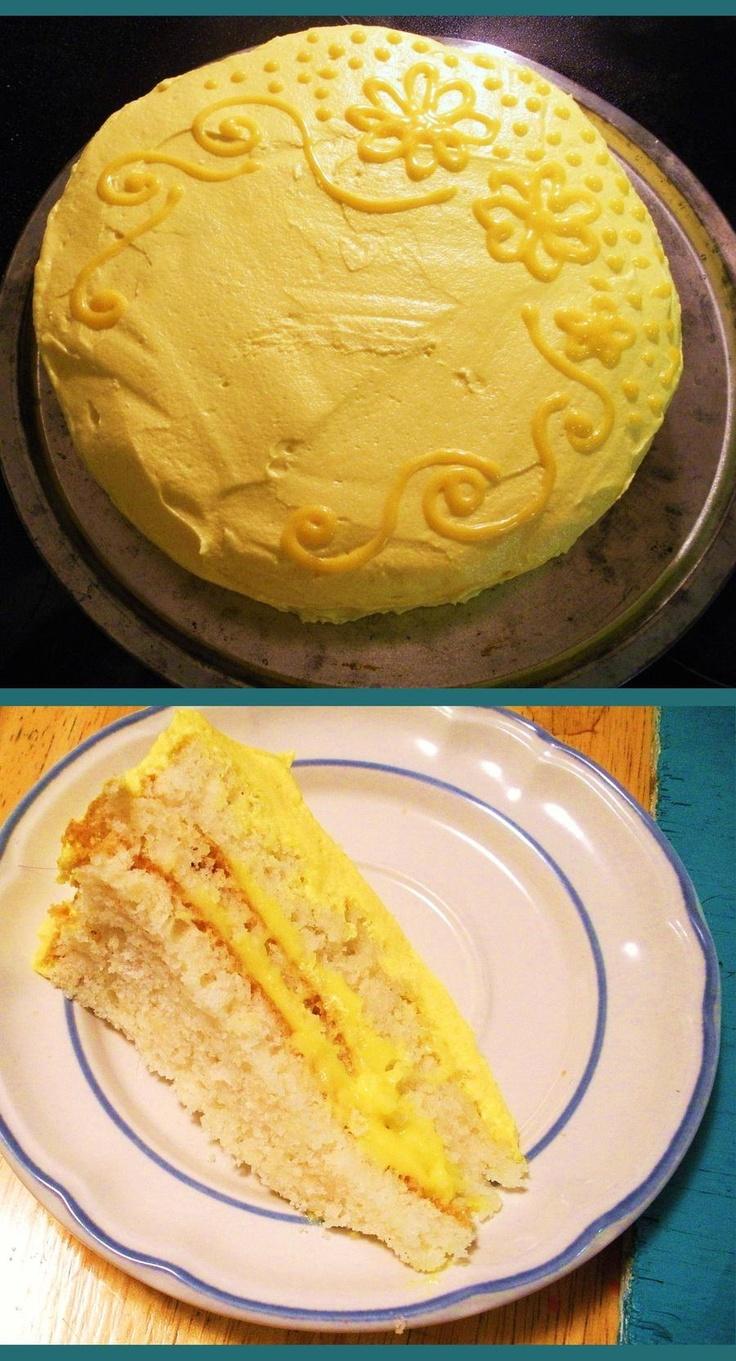 Lemon Doberge Cake Original Content Pinterest