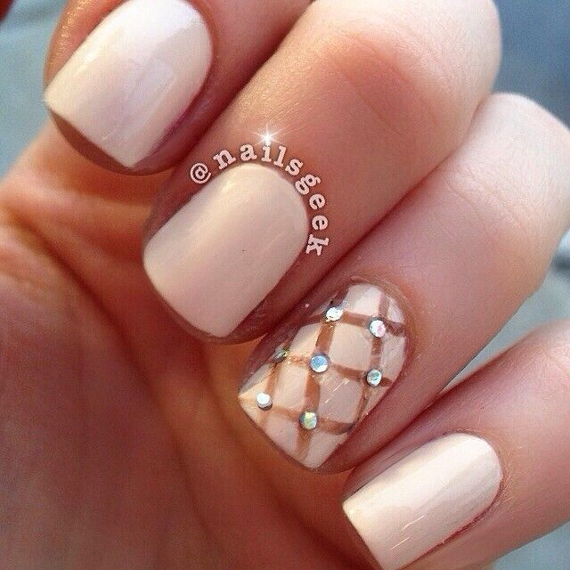 Nail designs with diamonds on one finger gallery for gt black view images spring nail prinsesfo Images
