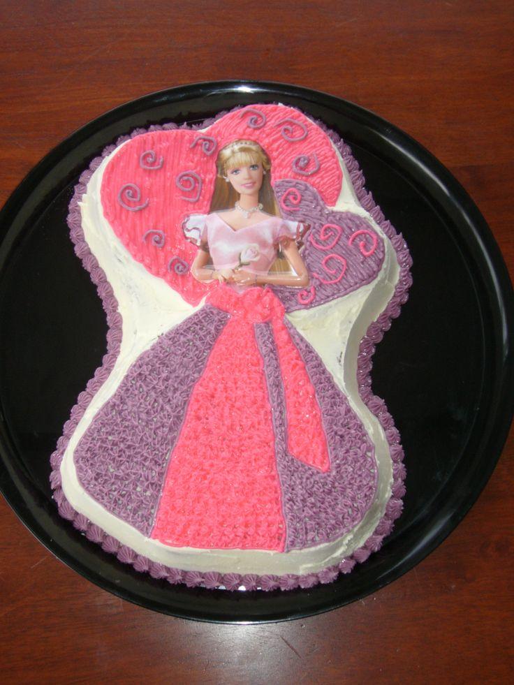 Wilton Barbie Cake Pan