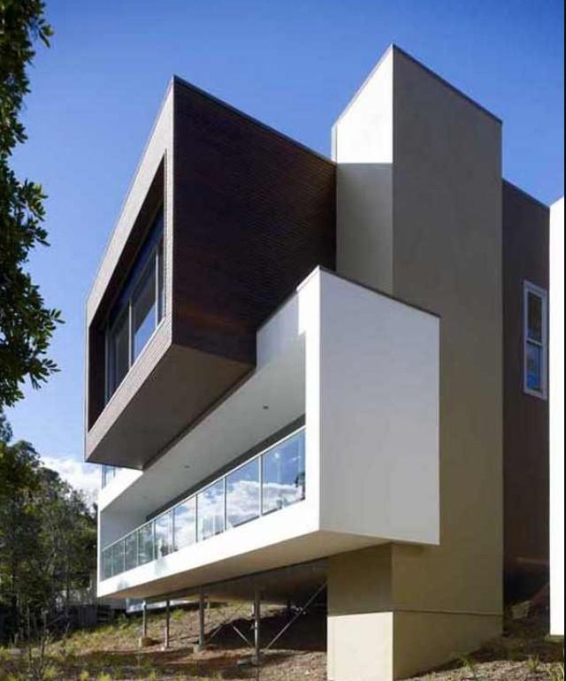 Modern House Facade Architecture Pinterest