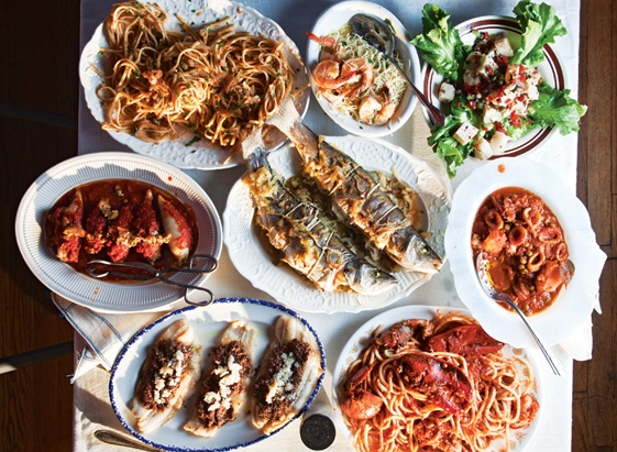 Pin by nina monfils on what to eat pinterest for Feast of the fishes