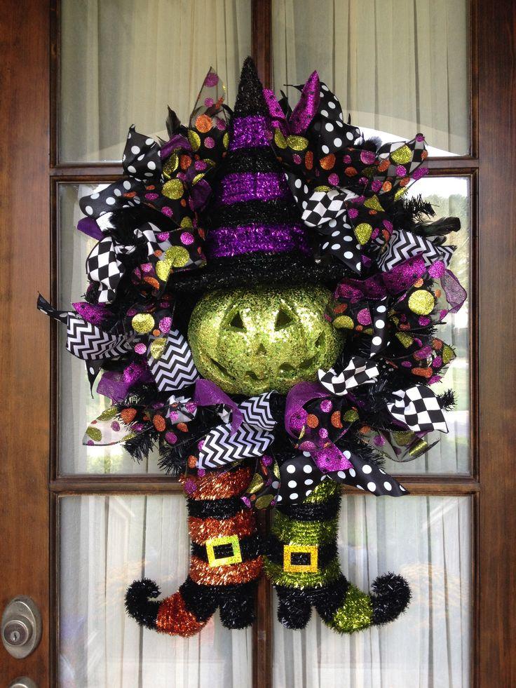 Amazing and spooky halloween wreath ideas themescompany - Interesting diy halloween wreaths home ...