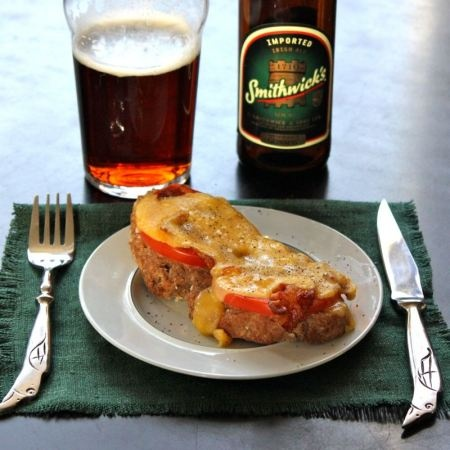 Buck Rarebit (Welsh Rarebit With Spinach And A Poached Egg) Recipe ...