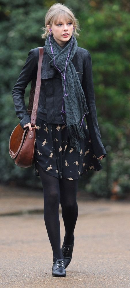 not really a fan of taylor swift but this is a cute fall outfit