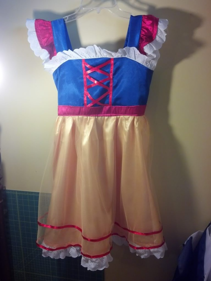 Snow White Costume Kids Diy Snow White Dress Diy Disney