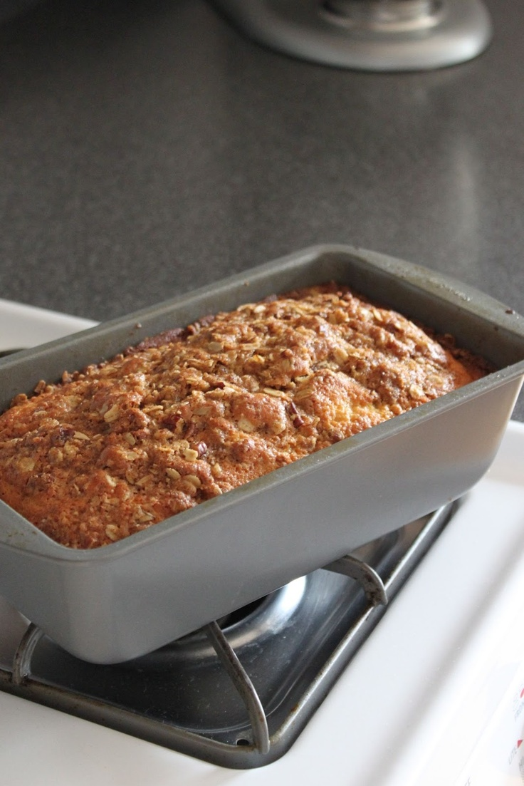 Apple Quick Bread With Pecan Streusel Recipe — Dishmaps