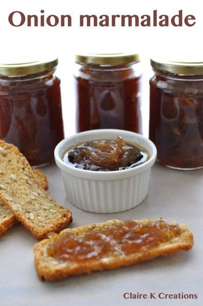 Onion marmalade via Claire K Creations | Made from scratch - things I ...