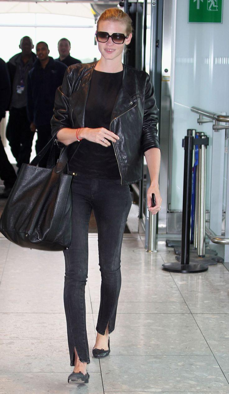 Lara Stone airport style