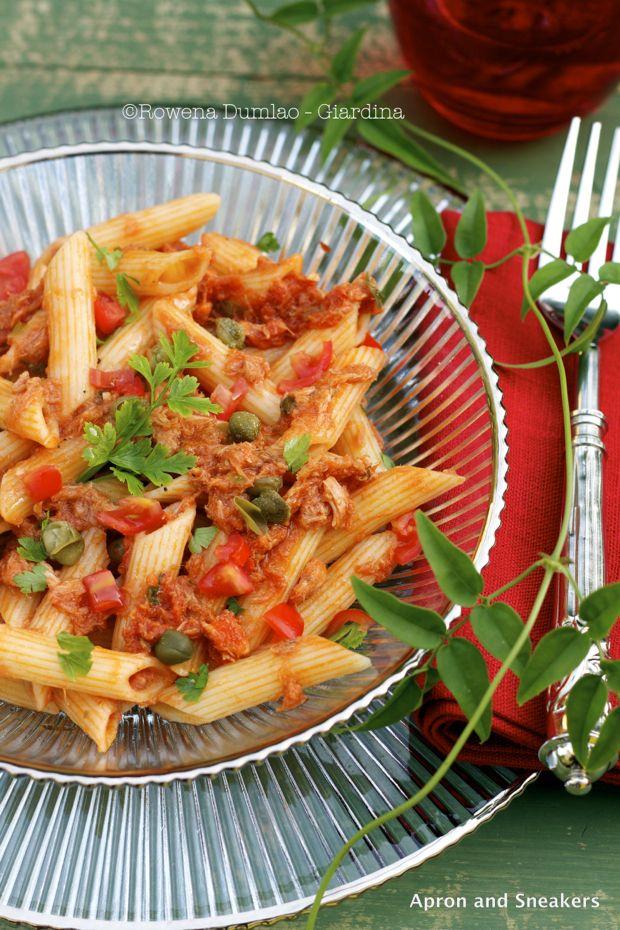 Tuna And Caper Tomato Pasta Recipes — Dishmaps