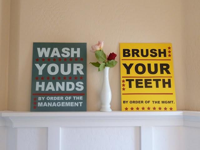 Bathroom Signs So Cute Signs Pinterest