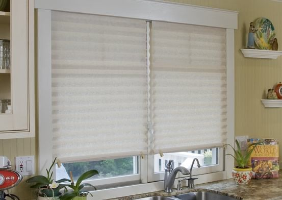 Temporary Blinds In Simple Trick : Redi-Shades These window shades are AMAZING!! At about $5.00 (average ...
