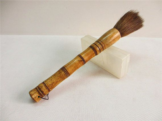 Chinese Artist Paint Calligraphy Brush Pen Bamboo Craft