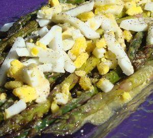 roasted asparagus with Dijon vinaigrette | I'm Gonna Eat You! | Pinte ...