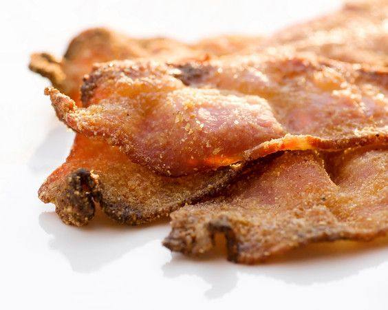 cornmeal and brown sugar crusted bacon   oscars   Pinterest