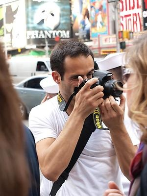 """man with camera"""