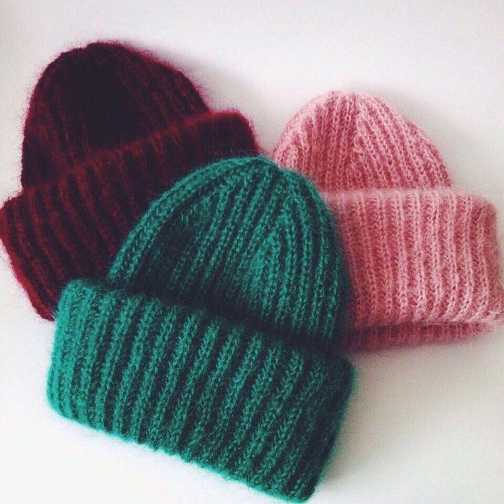 Как закончить вязание шапки английской резинкой 11