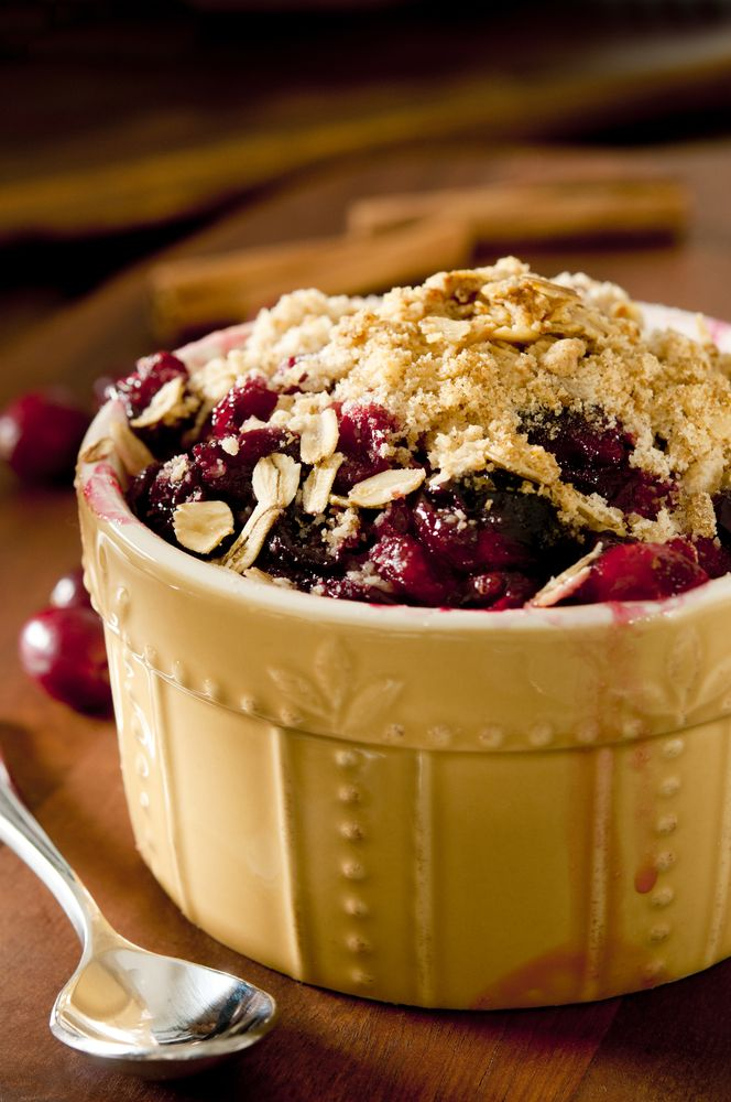 Apple & Cranberry Crumble Recipe | Desert to die for | Pinterest
