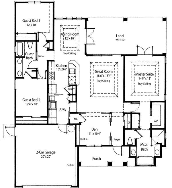 Floor 1 Net Zero Design Home Plans Pinterest