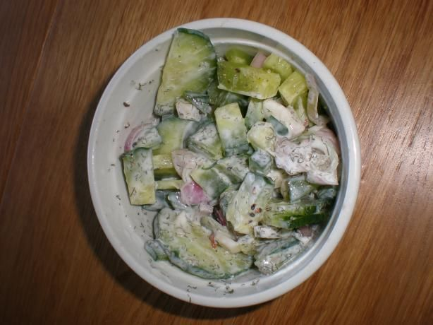 Cucumber, Dill and Horseradish Relish from Food.com: A delicious ...