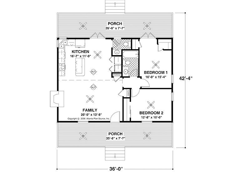Simple floor plan Buy house plans