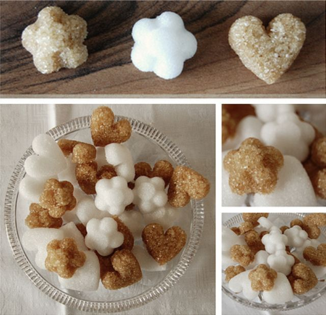 DIY Sugar Cubes | what's a wedding without candy? | Pinterest
