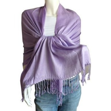 Lauren Solid Color Stunning Pashmina Scarf/Wrap