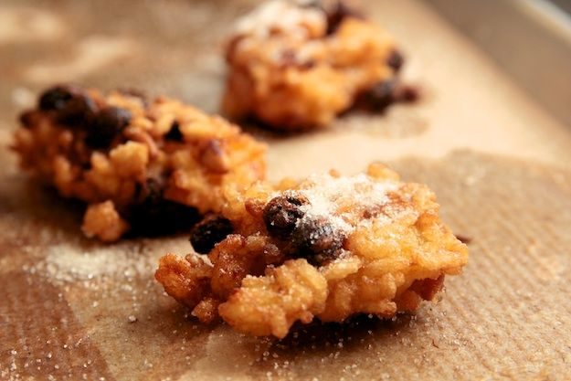 Italian Rice Fritters (Frittelle de Riso per Hanukkah)