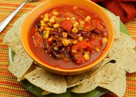 Crock Pot Mexican Corn And Bean Soup Recipe — Dishmaps