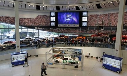 nascar hall of fame downtown charlotte