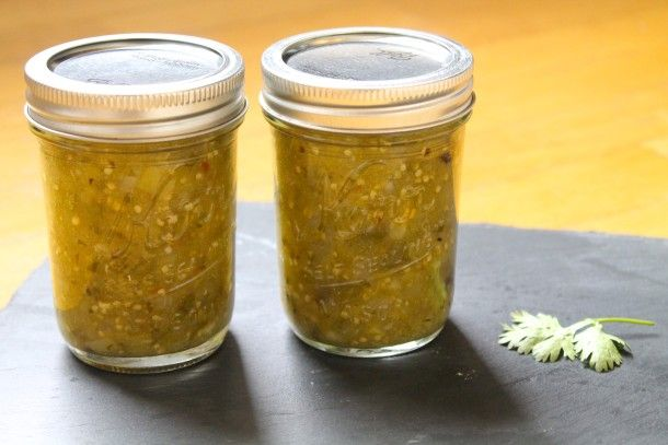canning recipe for Tomatillo Salsa Verde! Preserve the harvest with ...