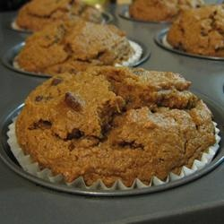Whole Wheat Pumpkin-Applesauce Muffins Allrecipes.com, they're in the ...
