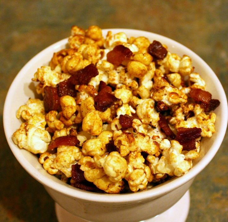 Maple-bacon kettle corn. Need I say more? (And it's super easy to make ...