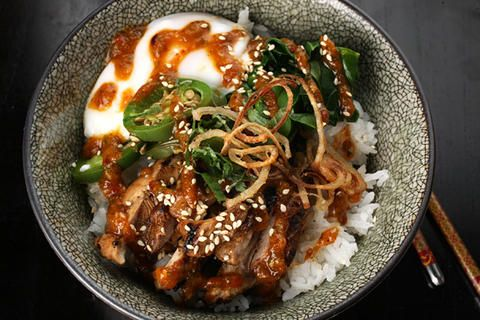 Sweet Chile–Chicken Rice Bowl | Carnivore | Pinterest