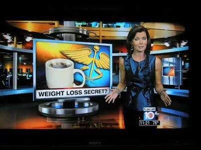 Our Healthy Coffee made it on Channel 10 news!! That's Great!!