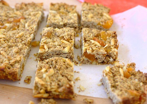 Thick and Chewy Granola Bars~ Kristine's Kitchen
