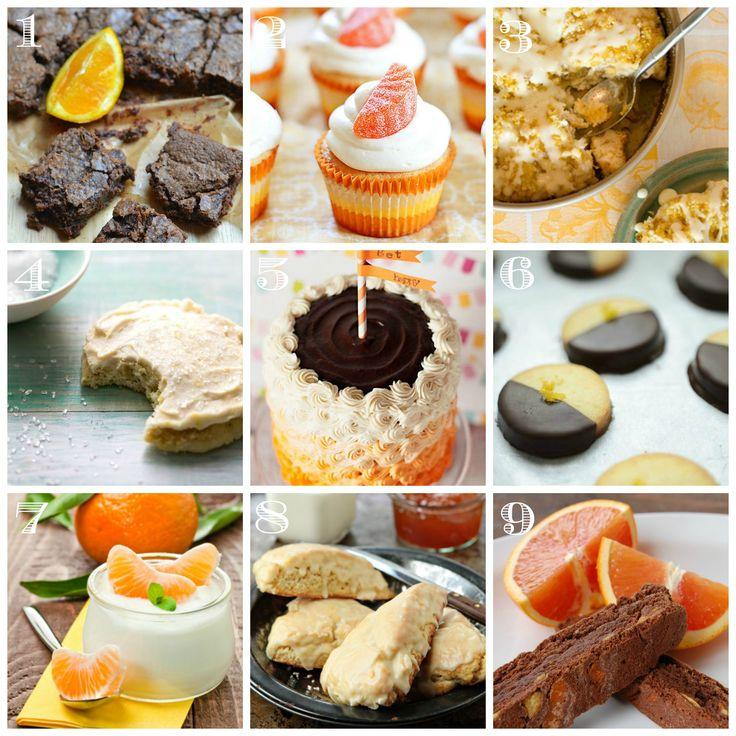 Orange Dessert Recipes • CakeJournal.com
