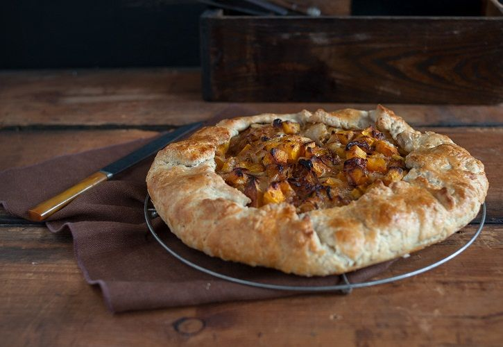 Butternut Squash and Caramelized Onion Galette by Judi and Nicole on ...