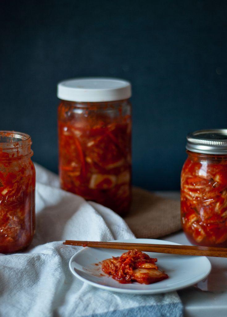 "Homemade mak (""easy"") kimchi. | Mangia | Pinterest"