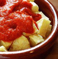 Catalan Potatoes Bravas | International Dinner- Appetizers | Pinterest