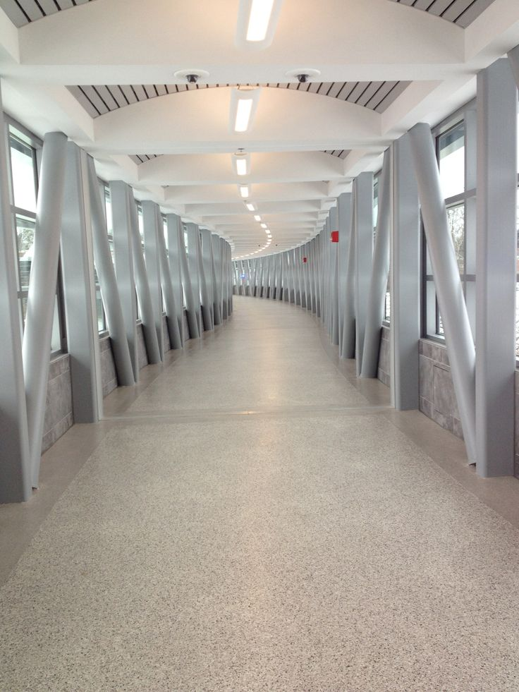 Stonhard 39 s seamless flooring solutions for covered walkways for Flooring solutions