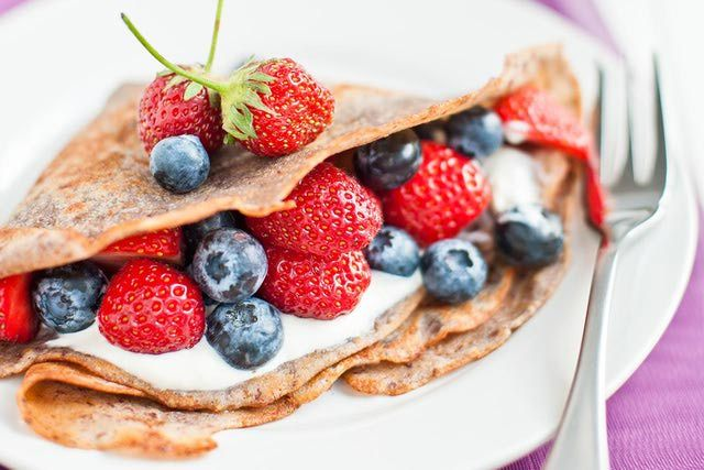 Make Nutritious Gluten-Free Buckwheat Crepes in 4 Easy Steps