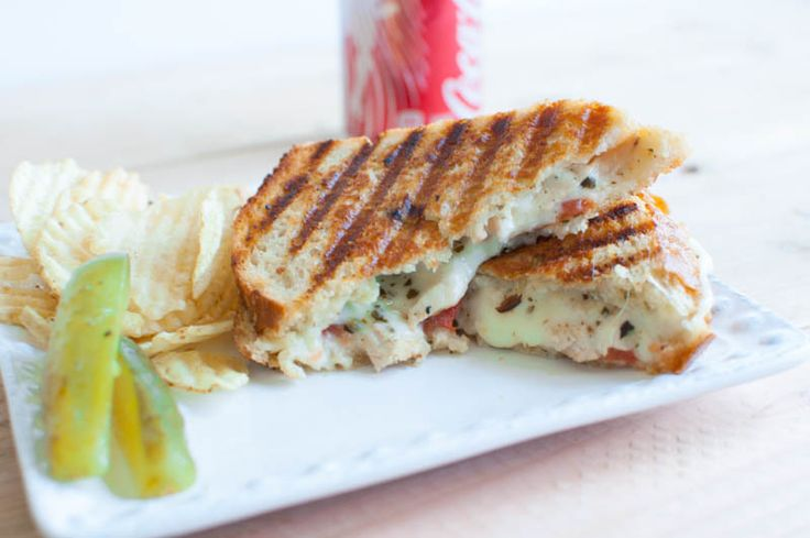 ... Panini with Roasted Garlic Butter and Pesto Mayo | Oh So Delicioso