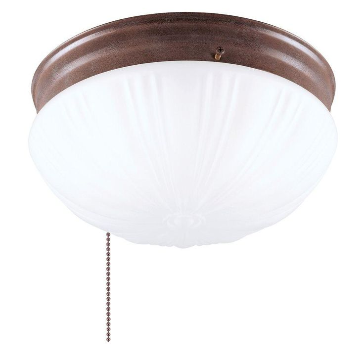 light ceiling fixture sienna interior flush mount with pull chain a. Black Bedroom Furniture Sets. Home Design Ideas