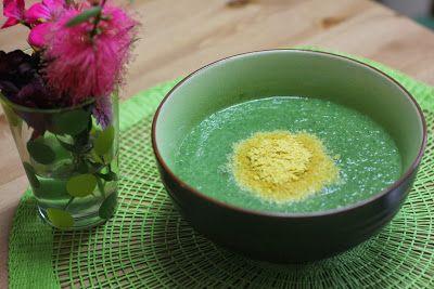 chilled asparagus soup creamy asparagus soup asparagus soup with egg ...
