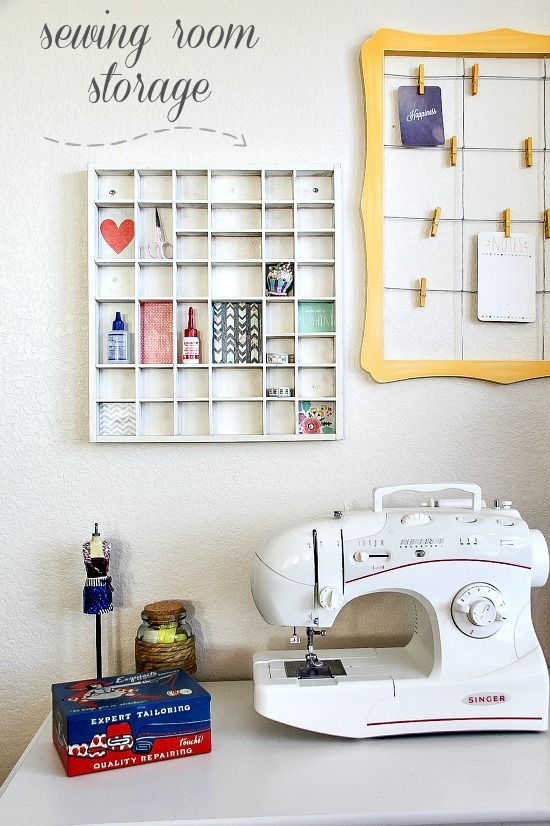 Diy sewing room storage ideas for Diy room storage