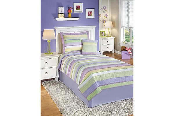 The Ana Twin Comforter Set from Ashley Furniture HomeStore (AFHS.com).